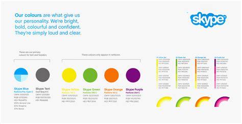 skype color la imagen corporativa y las paletas de color aranda
