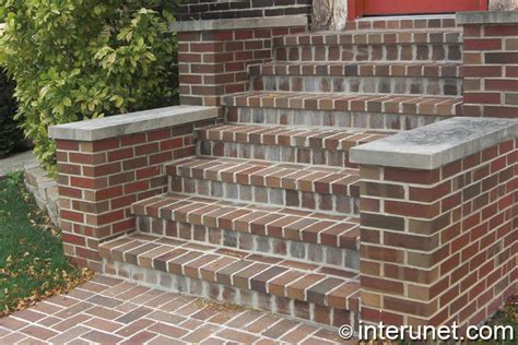Brick Stairs Design Brick Steps To The House Entrance Interunet