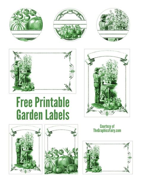 c printable area landscape 15 must see printable garden labels pins herb labels