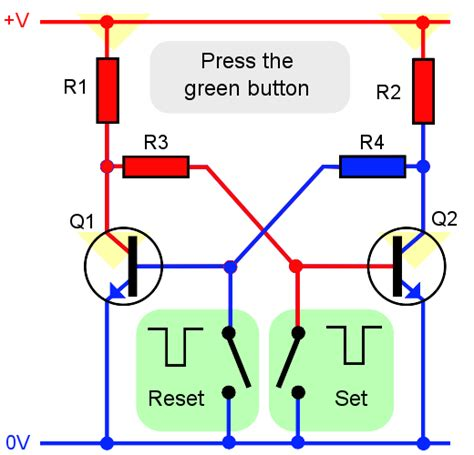 transistor lifier working animation simple soft power latch circuit page 1