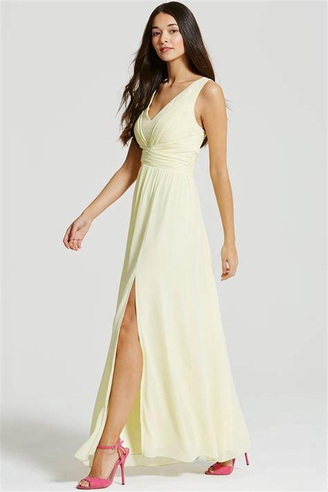 Maxi Lemonskin 4 lemon empire line maxi dress from uk