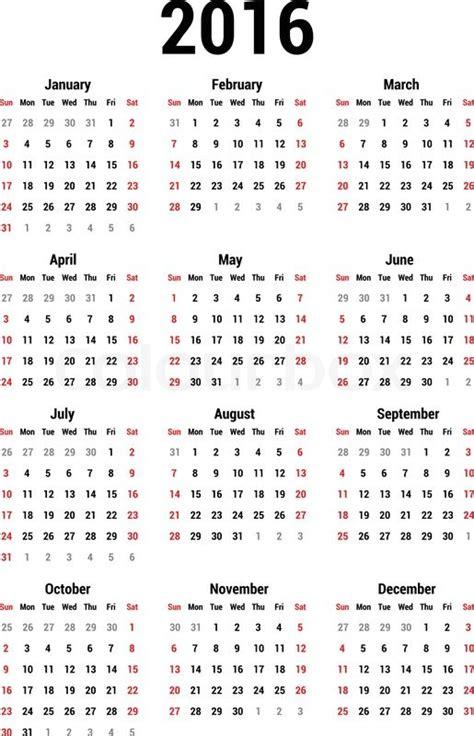 printable calendar usa 2016 2016 broadcast calendar template calendar template 2016