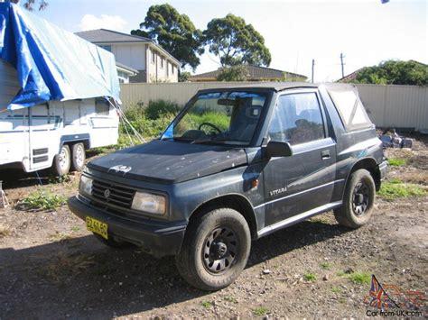 Suzuki Vitara 1994 Suzuki Vitara 4x4 1994 Jx In Nsw