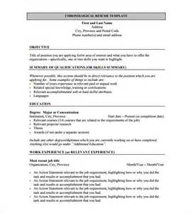 Sle Resume For Freshers Pdf by Resume Template For Fresher 10 Free Word Excel Pdf Format Free Premium Templates