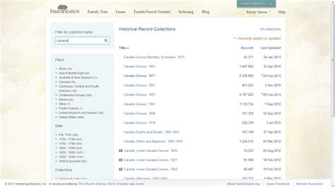 Records Search Canada Genea Musings Canadian Census Records On Familysearch