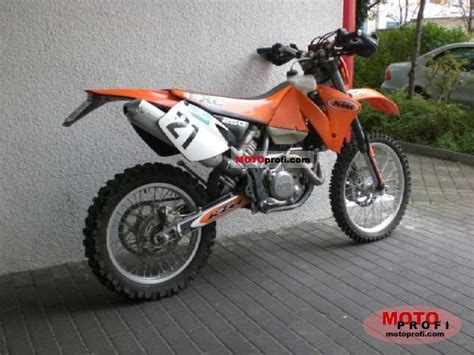 Ktm 250 Specs Ktm 250 Exc 2003 Specs And Photos