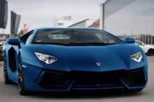 Blue Lamborghini Matte Blue Lambo Vroom