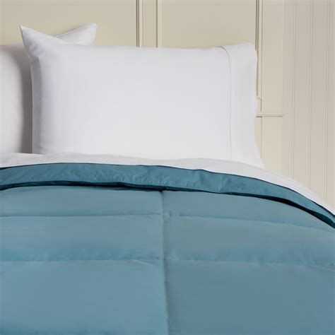 colored down comforter hotel madison cotton lightweight 15 inch box stitch