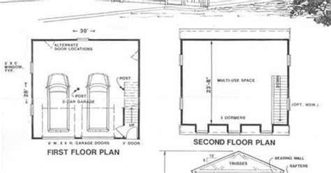 gambrel attic truss design garage ideas pinterest colonial gambrel garage plans with loft 1524 1 by behm