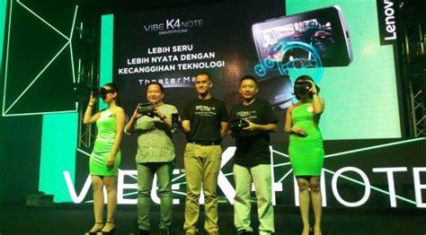 Resmi Lenovo Vibe K4 Note resmi mendarat di indonesia inilah harga lenovo vibe k4