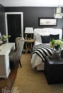 Home Office Ideas Spare Bedroom Dear Lillie Guest Bedroom