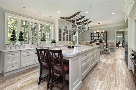 looking at the country kitchen wood look porcelain tile for kitchen entry den