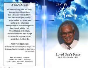 free memorial template 52 best images about funeral bulletins on