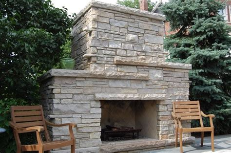 outdoor stone fireplace outdoor fireplace chicago il photo gallery
