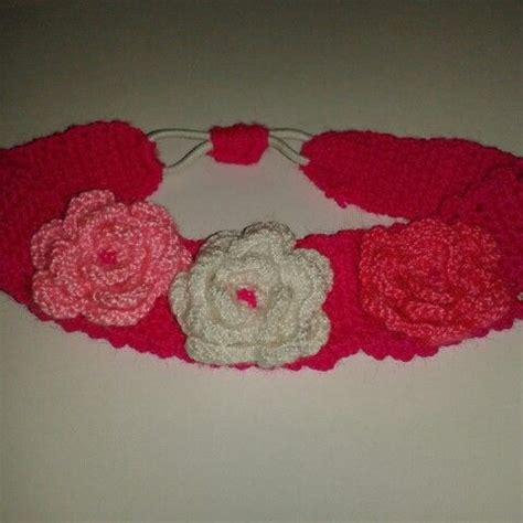 natural crochet tejidos flores para cintillos cintillo tejido a crochet con flores para ni 241 as