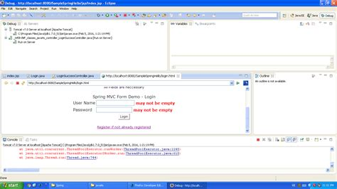 tutorial java spring eclipse java how to use breakpoints in eclipse for spring mvc