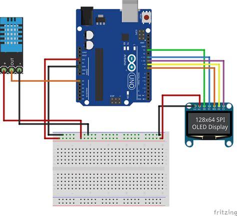 tutorial arduino spi spi oled tutorial schematic arduino pinterest