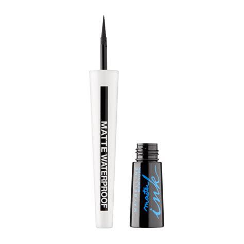 Eyeliner Maybelline Matte maybelline master ink matte eye liner 012 noir mat