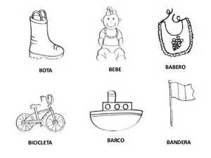 palabras e imagenes con la letra b palabras con b
