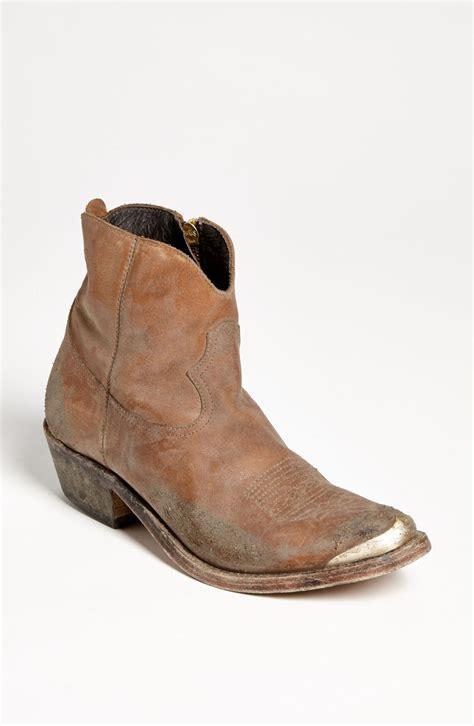 Golden Goose Cowboy Boots by Golden Goose Deluxe Brand Western Boot In Brown
