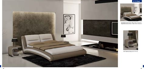 Modern Bedroom Desks Bedroom Furniture Bedroom Furniture Modern Bedrooms 2110 Beige White Bed N007