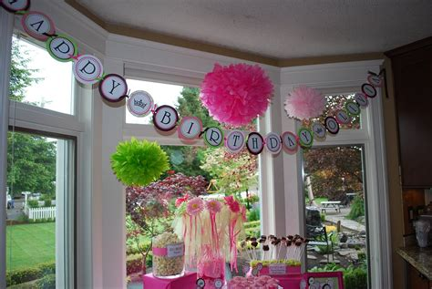 1st birthday decoration ideas at home outdoor birthday decorations the house decorating