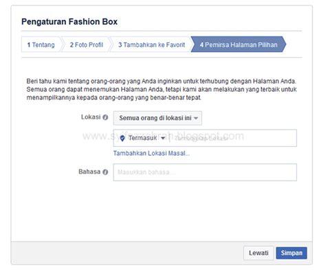 cara membuat fanspage facebook banyak yang like syifazzahrah