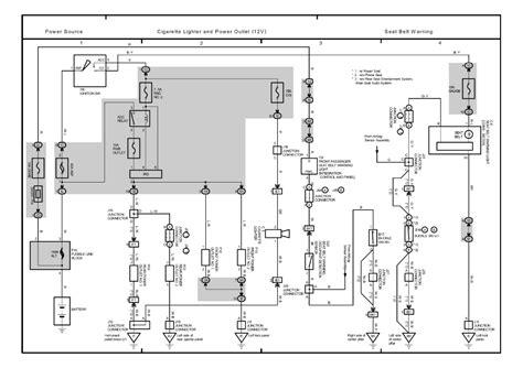 toyota sequoia seat belt diagram toyota free engine