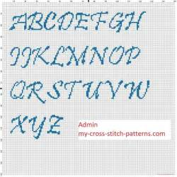 cross stitch pattern fonts 709 best alphabet charts images on pinterest cross