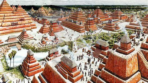 imagenes los mayas de qu 233 color eran las pir 225 mides mayas