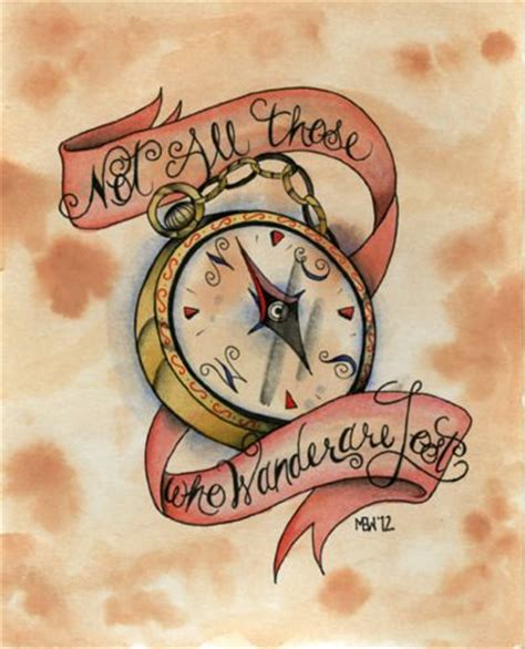 compass tattoo with quote quotes about direction compass quotesgram