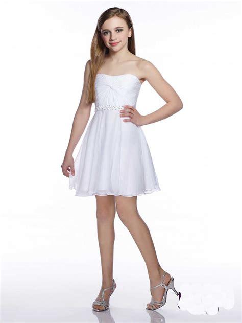 lovely simple short flower girl dresses  sweetheart