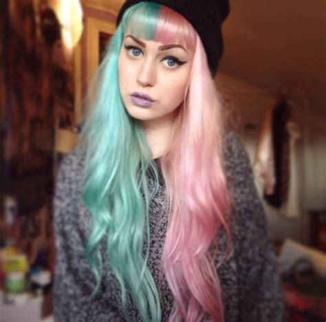 two colored hair multi colored hair overtone haircare
