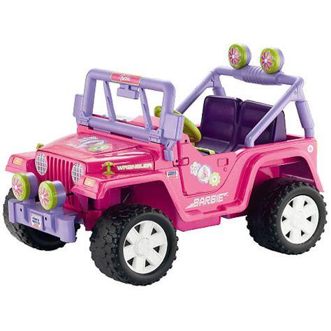 barbie jammin jeep my family fun power wheels barbie jammin jeep music