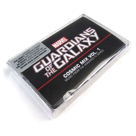 cassette cosmic guardians of the galaxy cosmic mix vol 1 cassette