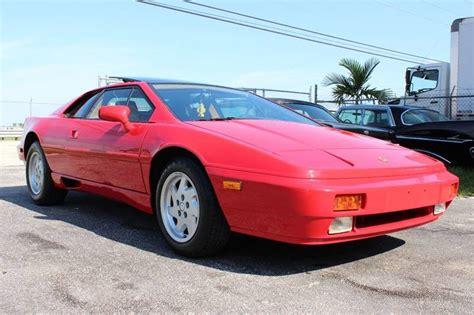 how things work cars 1989 lotus esprit parental controls 1989 lotus esprit turbo se ebay