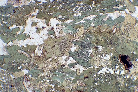 metamorphic textures thin section rocks of nw scotland rock sle images