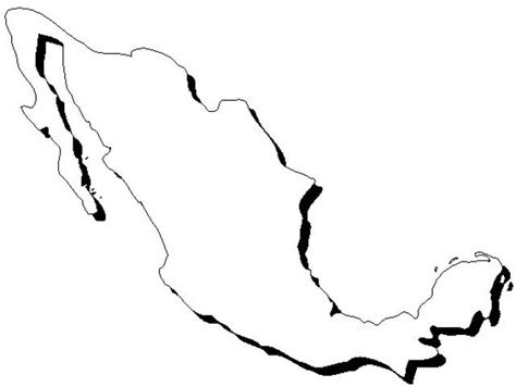 mexico map coloring pages best photos of coloring map of mexico printable mexico maps with cities mexico map coloring
