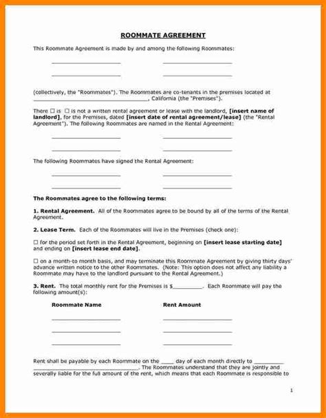 rent a room lease agreement template 7 free room rental lease agreement template resumed
