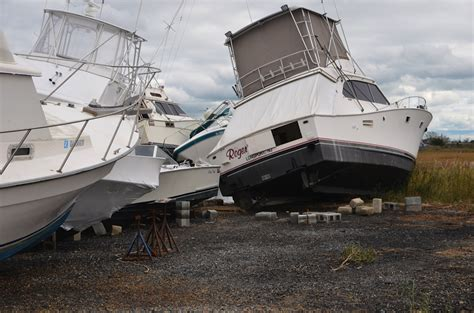 boat salvage nj boaters after sandy tips on getting salvage and repairs