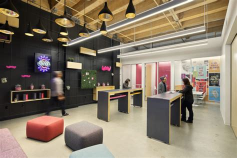 studios architecture lyft seattle office drivers hub
