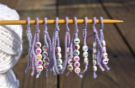 crochet parfait making your own crochet or knitting charts ideas for homemade stitch markers for your knitting projects