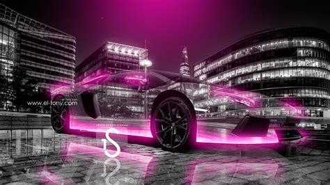 neon pink lamborghini lamborghini aventador city car 2013 el tony