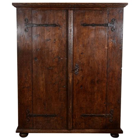 rustic armoires 17th century rustic german armoire at 1stdibs