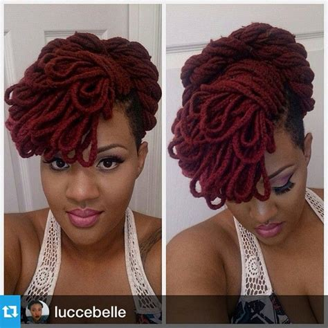 hair style with color yarn 259 best images about loc color ideas on pinterest