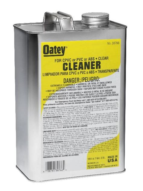Oatey Plumbing Products by Oatey 174 Clear Pipe Cleaner Gallon Hog Slat