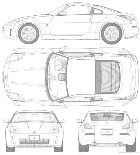 nissan 350z drawing the blueprints com blueprints gt cars gt nissan gt nissan 350z