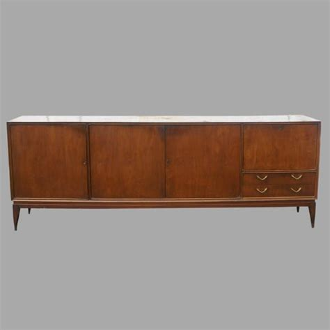 8 Foot Sideboard 8 ft vintage wood credenza breakfront sideboard buffet ebay