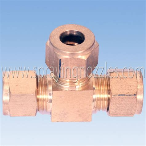 Single Connector 7mm For Mist Nozzle 1 stainless steel fog mist l connector nozzle and