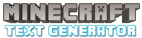 up text generator minecraft text generator